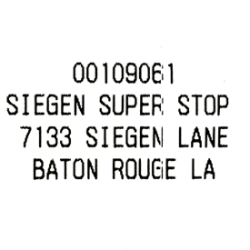 3/13/2014 arrive at destination Baton Rouge, LA!